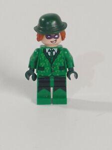 Lego DC The Batman Movie The Riddler prison Jumpsuit Minifigure