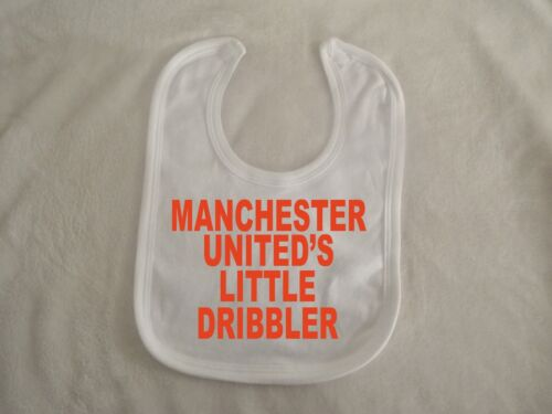 manchester united little dribbler Unisex Saliva Baby Bibs washable reusable