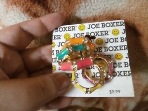 CLOSEOUT-SALE-From-USA-9-99-Joe-Boxer-Multicolor-Stackable-Rings-2