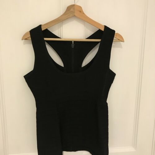 Black Medium Size Leger Top Vest Herve BCv5aqwn