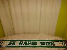 """SK Rapid Wien Ultra Seiden Fan Schal """"SK RAPID WIEN"""" """"GREEN TEAM"""" TOP"""