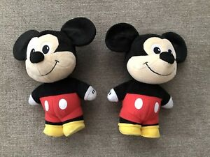 Standing Talking Mickey Mouse Plush Fisher Price Mattel Disney