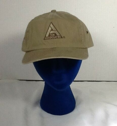 St1077 Brown The Associates Buckleback Hat