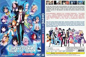Details About Conception Chapter 1 12 End Dvd English Dub Version Japan Anime