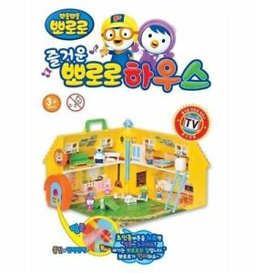 Fun-Pororo-House-Korean-TV-Anime-Character-Play-Toy-Children-without-Box-NV