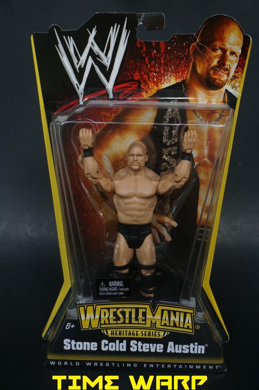 WWE STONE COLD STEVE AUSTIN WRESTLEMANIA HERITAGE SERIES WRESTLEMANIA X-7 FIGURE