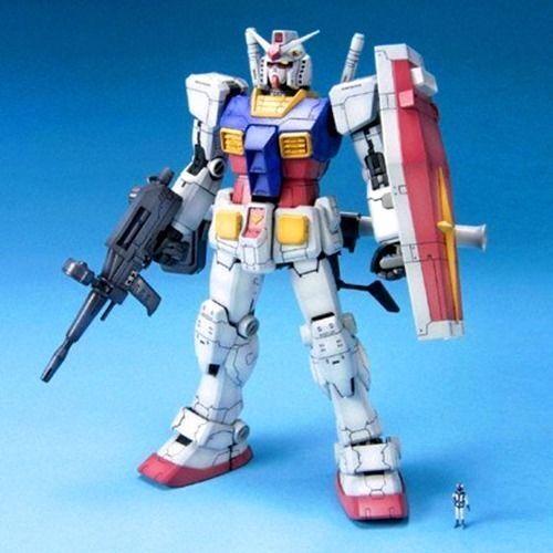 BANDAI MG 1 100 RX-78-2 GUNDAM GUNDAM GUNDAM Ver ONE YEAR WAR 0079 Plastic Model Kit NEW Japan f8f3eb