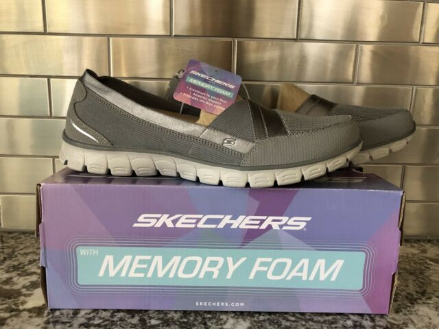 Skechers Sport Women's EZ Flex Flicker Slip On Sneaker 22832