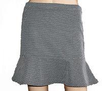 New Red Herring Debenhams Ladies Black White Flared Hem Skirt 12, 14, 16, 18, 20