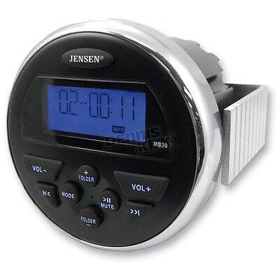 JENSEN MS30 AM/FM/USB Compact Waterproof Marine Stereo MS30RTL , MS30PS