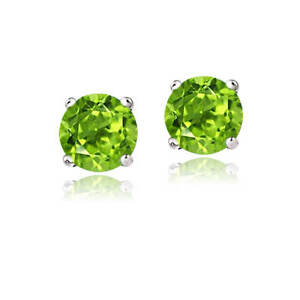 14K-WhiteGold-1-8ct-Peridot-Stud-Earrings-6mm