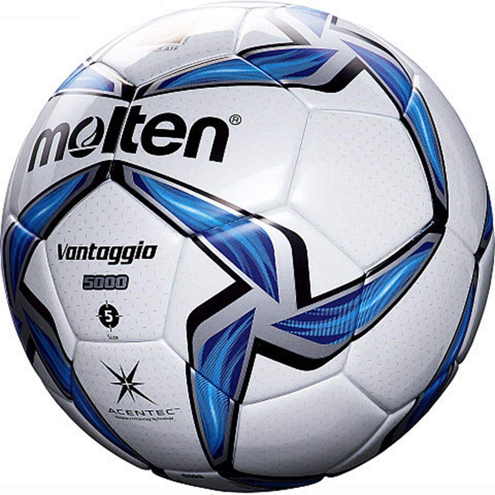Molten F5V5000 FIFA Approved ACENTEC Vantaggio Match Training & & & Leder Football 87f730