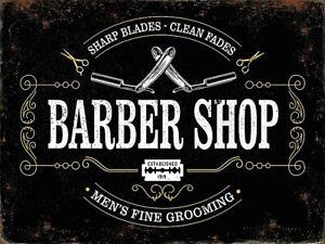 Barber-Shop-Men-039-s-Fine-Grooming-Fridge-Magnet-og
