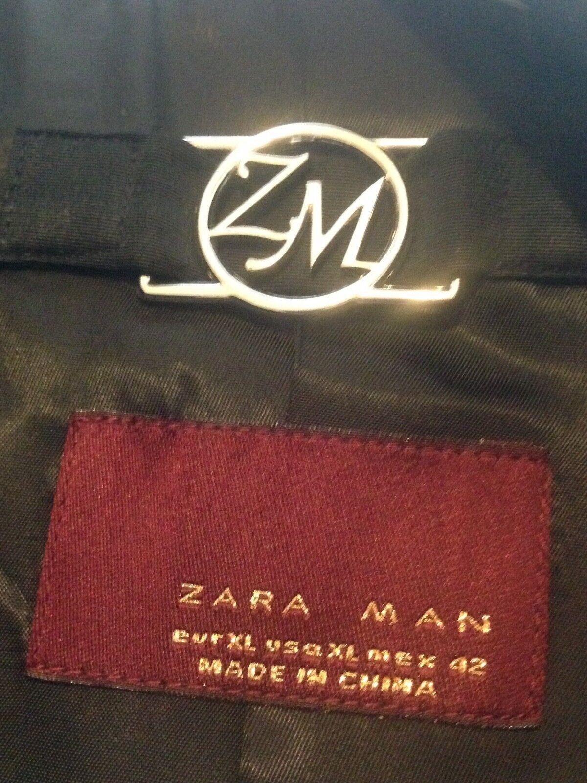 945190 Robe Xl 42 Veste Zara Homme Noir Smart pO0AUOwHq