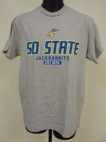 Neuf South Dakota State Jackrabbits Adultes Hommes TAILLE M Medium T-Shirt 74MU