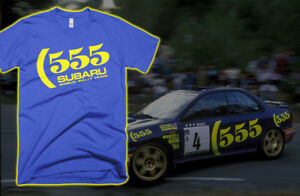 555-Subaru-World-Rally-WRX-shirt-Colin-McRae-FREE-SHIPPING-IN-USA