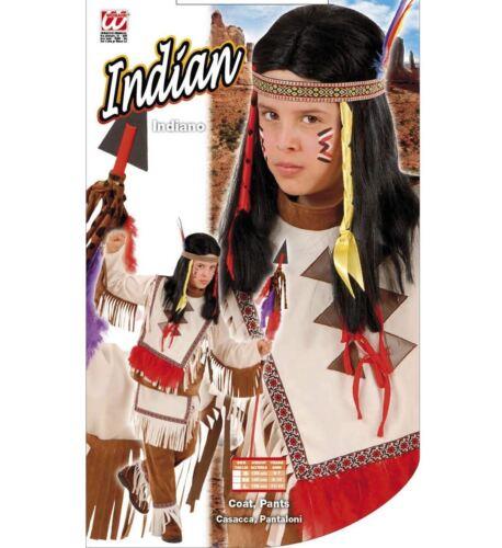 INDIANER KOSTÜM KINDER Karneval Fasching Party Jungen Häuptling Western # 5536