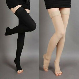 NE-15-25mmHg-Compression-Stockings-Medical-Varicose-Vein-Relief-Support-Thigh-H