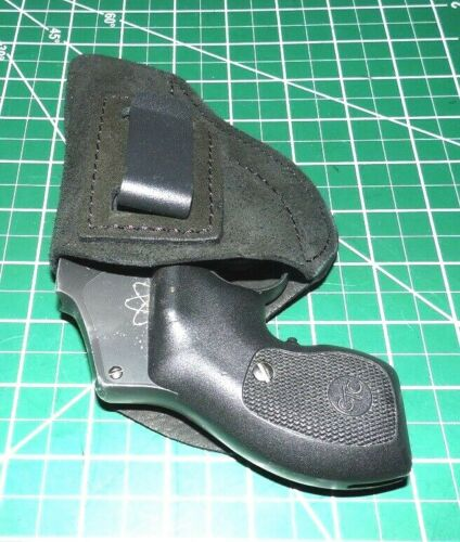 """Tagua OPH-710 RH Suede Leather IWB Holster 2/"""" S/&W J Frame 36 60 442 Ruger LCR"""