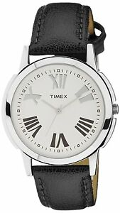 Timex-TW002E118-Analog-Silver-Dial-Men-039-s-Watch