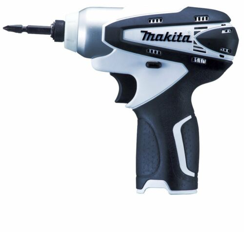 Makita Rechargeable Impact Driver 10.8V White Body Only TD090DZW