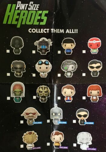 SCIENCE FICTION Funko PINT SIZE HEROES Exclusives Kirk Doc Brown More YOU PICK