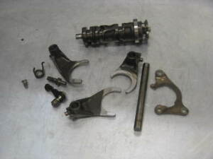 Honda-CB750SC-CB750-SC-1982-82-83-Nighthawk-Transmission-Shift-Drum-Forks-Star