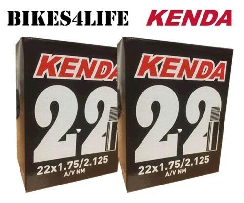 KENDA CYCLE SCHRADER VALVE INNER TUBE 22 X 1.75  KT29D  QUANTITY OPTION