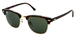 BRAND-NEW-Ray-Ban-Sunglasses-RB-3016-W0366-51mm-Clubmaster-Tortoise-AUTHENTIC