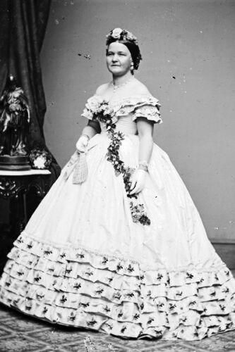 First Lady Mary Todd Lincoln wife of President Abraham Lincoln New 5x7 Photo