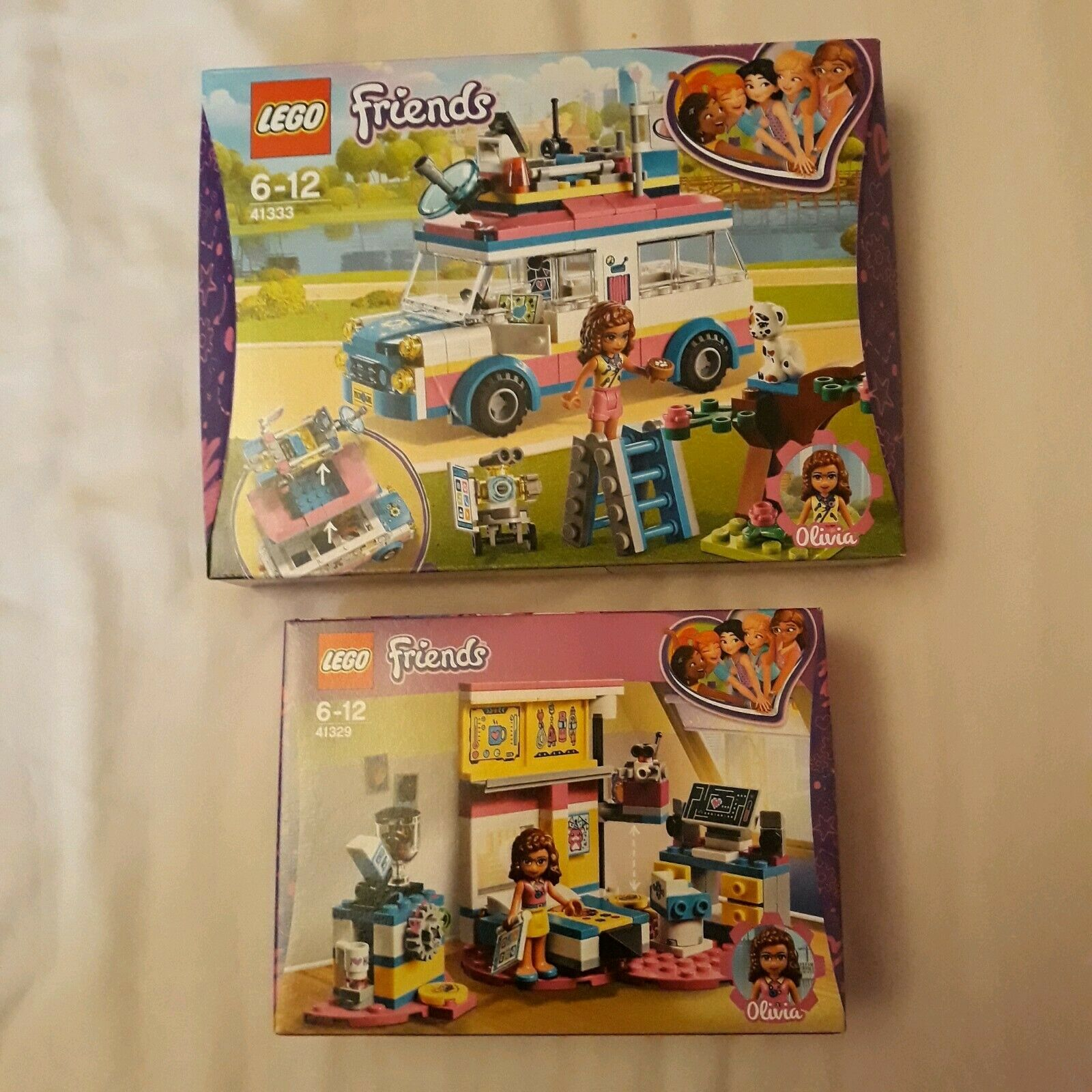 Lego Friends 41333 Olivias Mission Vehicle Olivias Deluxe