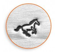 Galloping Horse Steel Punch Design Stamp 4 Hand Stamping Jewelry