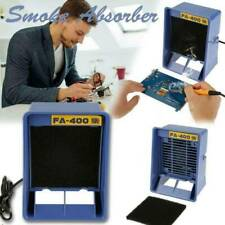 Iron Solder Smoke Absorber Remover Fume Extractor Air Filter Fan For Soldering