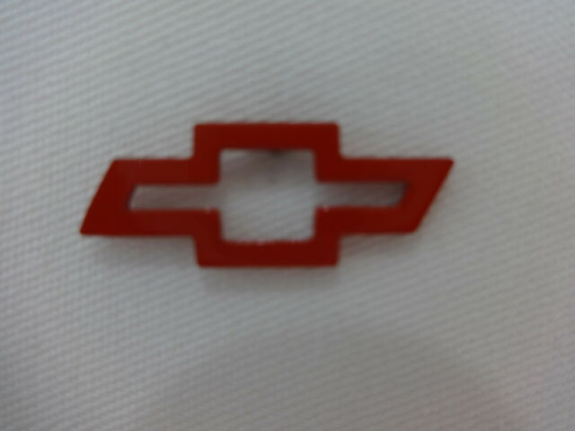Chevrolet Chevy Bow Red Tie Lapel / Hat Pin GM Nascar IndyCar