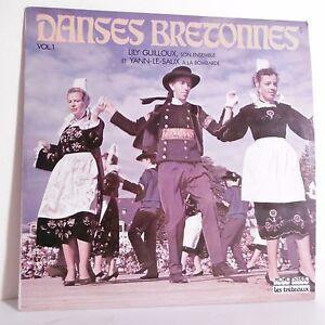 33T-DANSES-BRETONNES-Vinyle-LP-Lily-GUILLOUX-Yann-LE-SAUX-Bombarde-TRETEAUX-6234