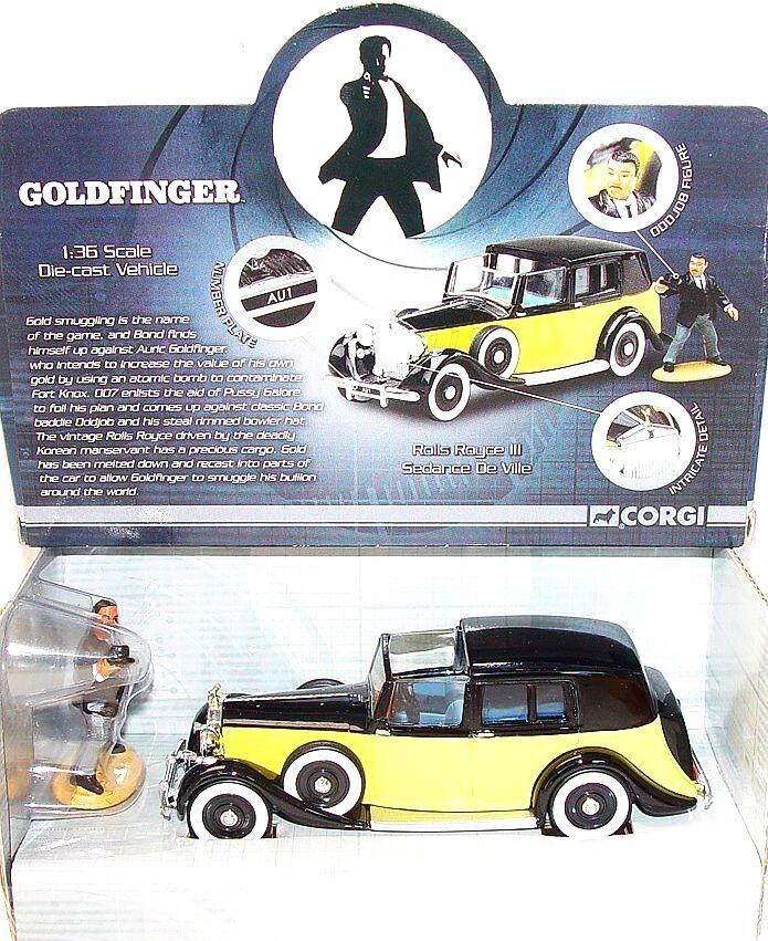 CORGI TOYS 1 36 James Bond 007 ROLLS ROYCE orfinger film voiture  CC06803 En parfait état, dans sa boîte`09