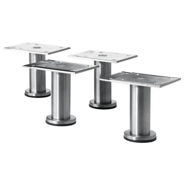 Ikea Capita Stainless Steel Leg Small Kitchen Cupboard Metod