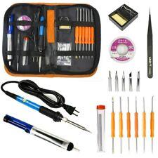 Soldering Iron Gun Kit Electrical Wire Tips Tool Set Solder Station 60w 110v Us