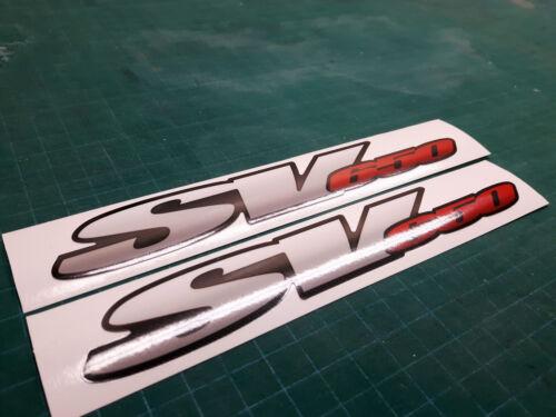 SV650 graphic Swingarm decals stickers Fits Suzuki SV 650 Red 2