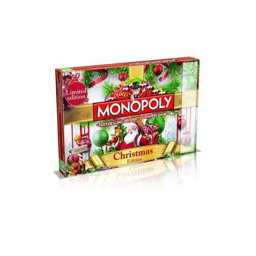 CHRISTMAS EDITION MONOPOLY FAMILY BOARD GAME