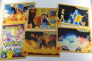 Pokemon La Pelicula 6 Postales Tarjetas Ver Fotos Kfnsivui-08002622-215402819