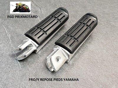 Compatible avec FZ6 XJ6 1000 FAZER 1200 1300 XJR FJR PAIRE DE REPOSES PIEDS PASSAGER ARRI/ÈRE 34522