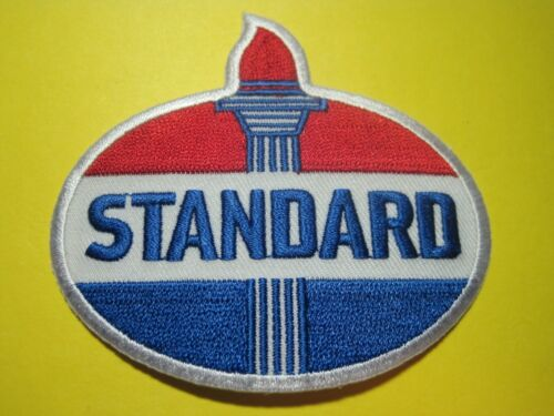 STANDARD OIL UNIFORM CLOTH PATCH 3 INCH CREST SIZE LOOK AND BUY!*