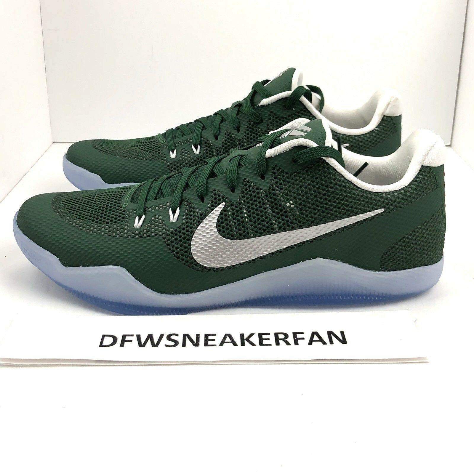 Nike Kobe XI 11 TB Promo Gorge Green Basketball shoes Size 14.5 Mens 856485-331