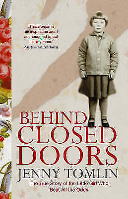 """AS NEW"" Tomlin, Jenny, Behind Closed Doors Book"