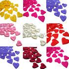 1000PCS Heart Design Silk Rose Petals Wedding Party New