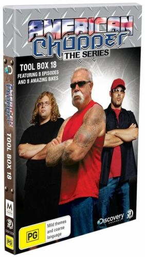 1 of 1 - American Chopper -  Tool Box 18 DVD MHE