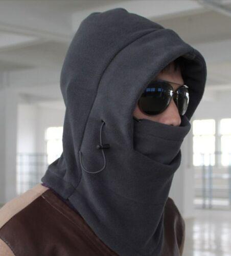 Gray 3in1 Warm Full Face Cover Winter Ski Mask Beanie Police Swat Ski Mask