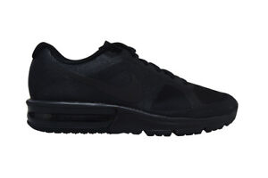 pretty nice 89b62 2010b Image is loading Womens-Nike-Air-Max-Sequent-719916099-Black-Trainers