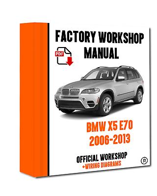 Assistenza e riparazione MANUALE PER OFFICINA UFFICIALE PER BMW SERIE X X5 E70 2006-2013